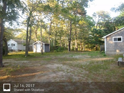 Eastham Cape Cod vacation rental - Outdoor dining, gas grill, large yard for outdoor games.