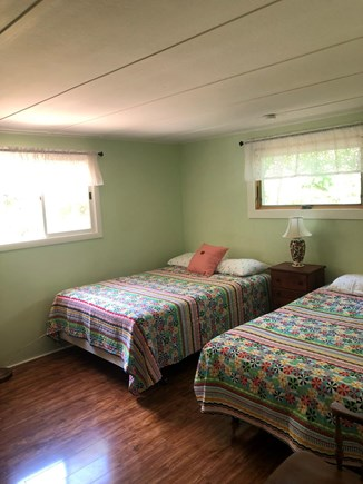 Eastham Cape Cod vacation rental - Bedroom #2  two full beds