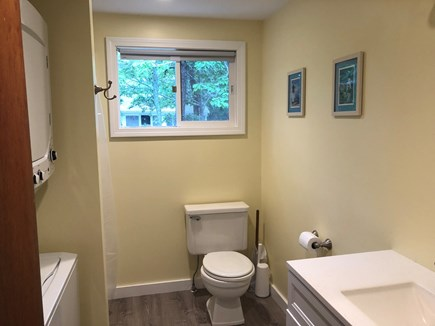 Eastham Cape Cod vacation rental - New bathroom with washer/dryer