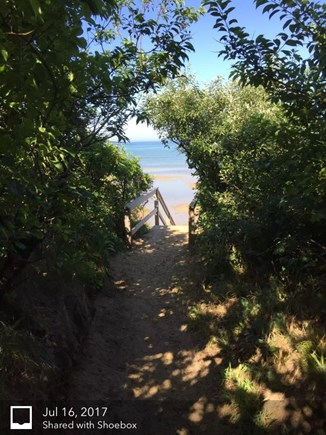 Eastham Cape Cod vacation rental - Beautiful walk down sandy path to Cape Cod Bay