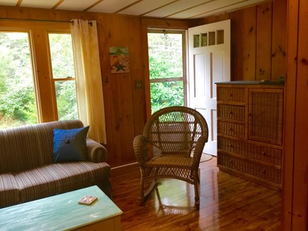 Eastham Cape Cod vacation rental - Entrance and living room