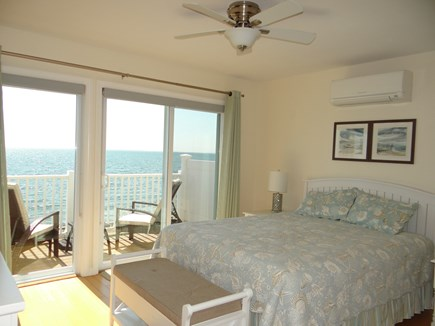 North Truro Cape Cod vacation rental - Bedroom - w/Queen bed, AC and flat panel TV