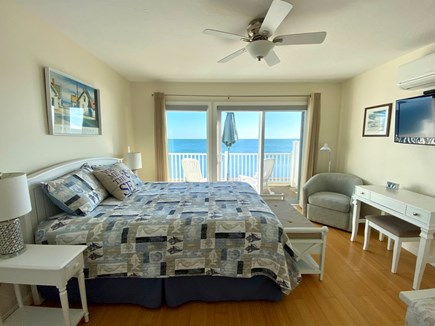 North Truro Cape Cod vacation rental - Bedroom - w/Queen bed, sliders to private deck