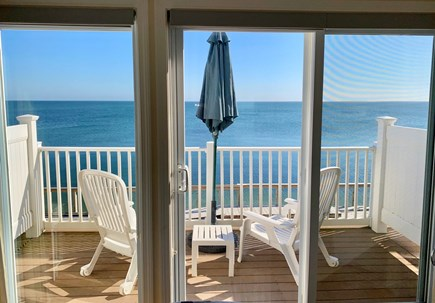 North Truro Cape Cod vacation rental - Bedroom - sliders to private deck