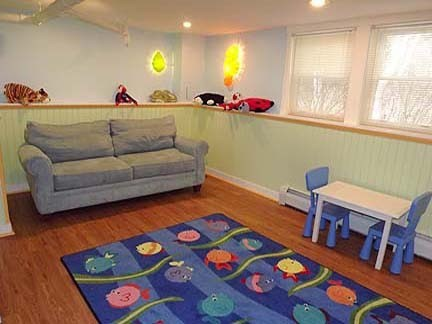 Chatham Cape Cod vacation rental - Playroom on the first floor with pull out sofa