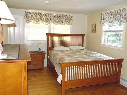 Chatham Cape Cod vacation rental - 2nd Bedroom with queen bed and private bath