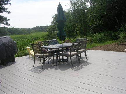 Chatham Cape Cod vacation rental - Spacious deck with BBQ grill