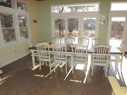 Chatham Cape Cod vacation rental - Dining area of Great Room