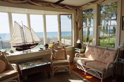 Centerville, Barnstable Centerville vacation rental - Back porch overlooking Ocean
