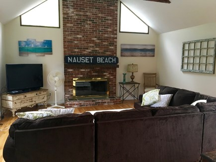 Orleans, MA Cape Cod vacation rental - Open living room with Flat Screen TV