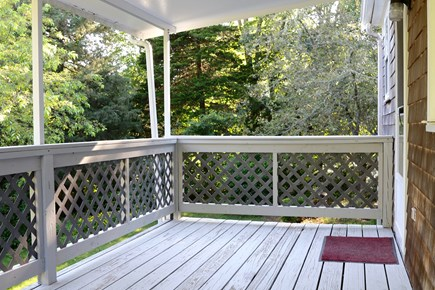 Orleans, MA Cape Cod vacation rental - Peaceful deck with views of yard
