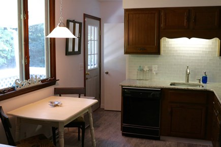 Orleans, MA Cape Cod vacation rental - Cozy breakfast nook with access to deck