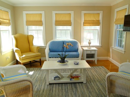 Yarmouth Cape Cod vacation rental - Bright and lovely sun room – our favorite spot