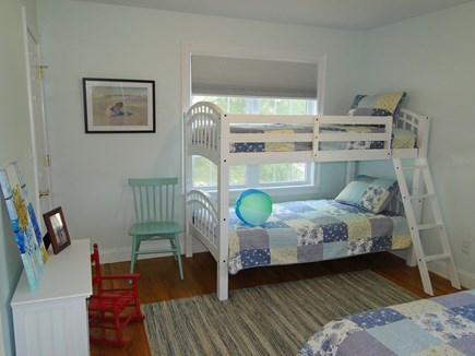 Yarmouth Cape Cod vacation rental - Bunk bed room with twin, sleeps 3