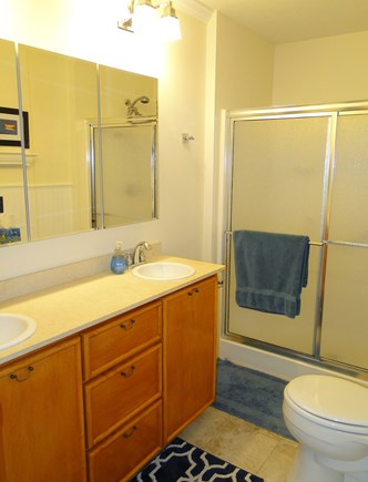 Yarmouth Cape Cod vacation rental - Master bathroom with shower
