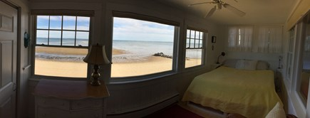 Provincetown Cape Cod vacation rental - Master bedroom with a beautiful water view!