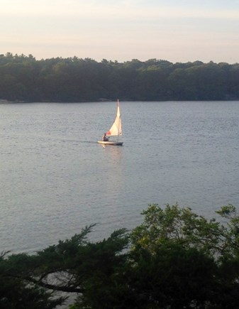 Falmouth Cape Cod vacation rental - Sailing on the lake