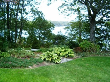 Falmouth Cape Cod vacation rental - Lake and Garden