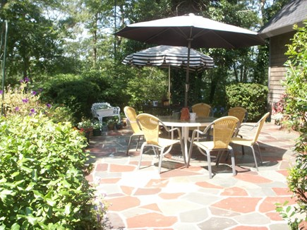 Falmouth Cape Cod vacation rental - Front patio