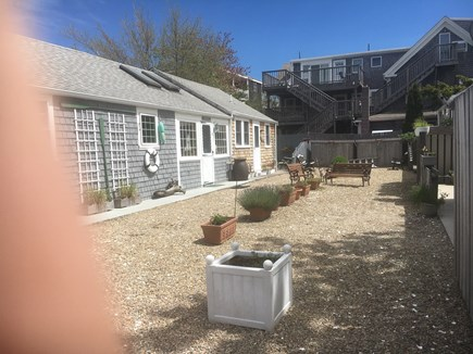 Provincetown Cape Cod vacation rental - Home is in the back on the left.  Thumb not included!