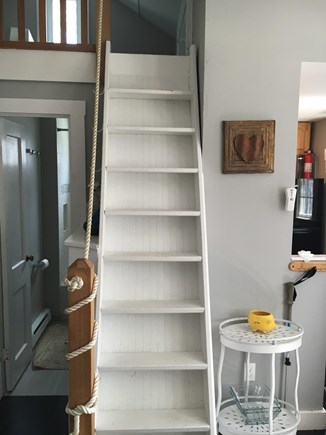 Provincetown Cape Cod vacation rental - Stairs to the loft