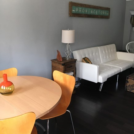Provincetown Cape Cod vacation rental - A view of the open main room