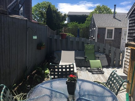 Provincetown Cape Cod vacation rental - View from the grill side of the deck
