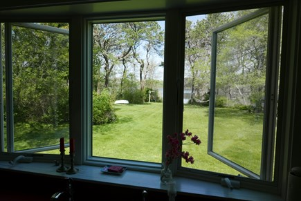 Brewster Cape Cod vacation rental - View from the kitchen window.