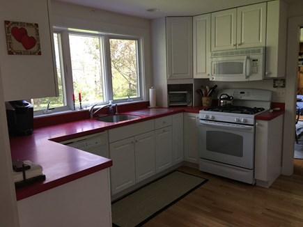 Brewster Cape Cod vacation rental - Fully furnished remodeled kitchen.