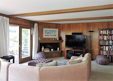 Falmouth Cape Cod vacation rental - Living Room w/ Flat Screen