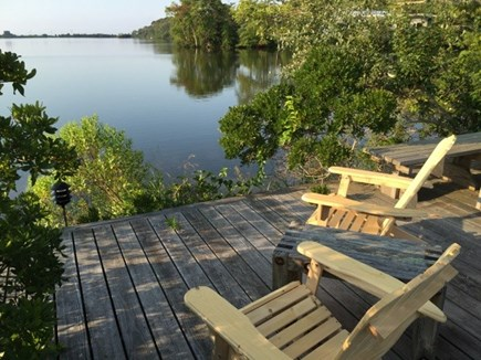Falmouth Cape Cod vacation rental - Beautiful Water Views  from Dock