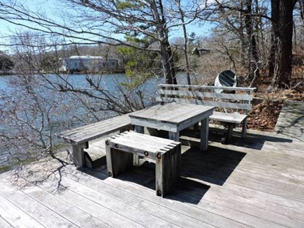 Falmouth Cape Cod vacation rental - Dock