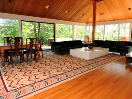 Falmouth Cape Cod vacation rental - Dining/ Living Area