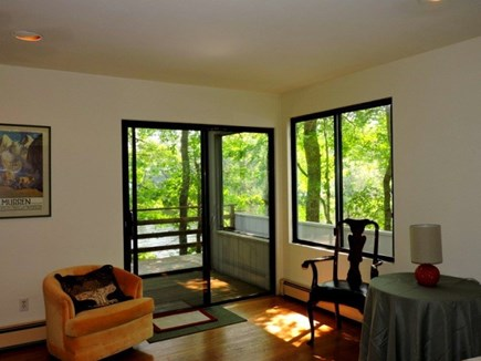 Falmouth Cape Cod vacation rental - Master Bedroom with Deck
