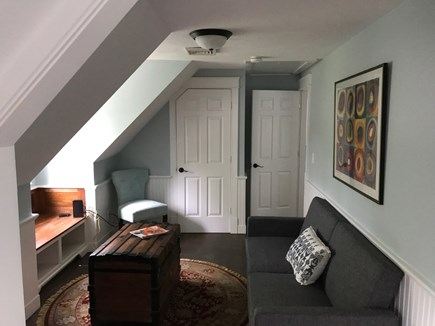 East Falmouth Cape Cod vacation rental - Hallway bonus room with queen Futon and  streaming TV