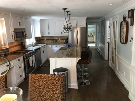 East Falmouth Cape Cod vacation rental - New Chef's kitchen