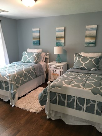 East Falmouth Cape Cod vacation rental - Third  bedroom with twin beds.