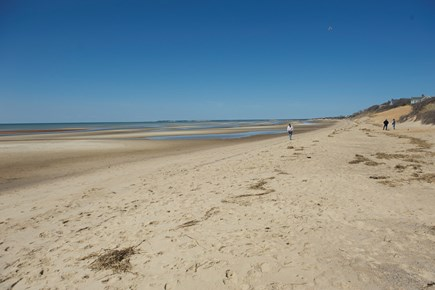 Eastham Cape Cod vacation rental - First Encounter Beach on the Bay just one mile from the house.