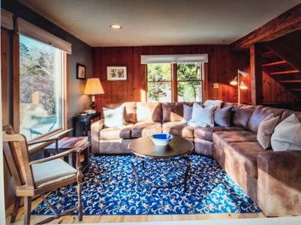 Eastham Cape Cod vacation rental - Enjoy the comfortable sectional couch for group chat.