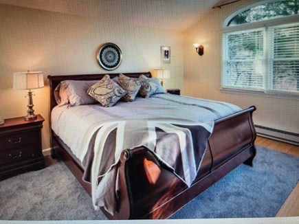 Eastham Cape Cod vacation rental - Fabulous first floor master bedroom suite with ensuite.