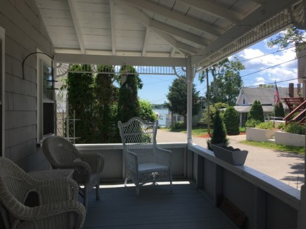 Onset MA vacation rental - Front porch.