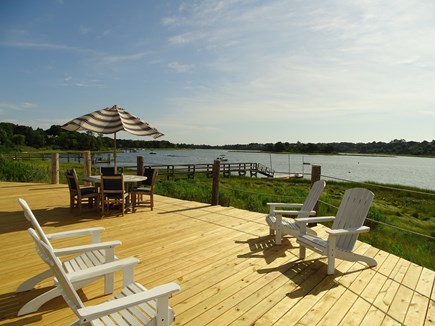 Eastham / Orleans Cape Cod vacation rental - Beautiful views of Town Cove from deck