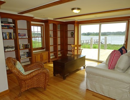 Eastham / Orleans Cape Cod vacation rental - Extra room – the library – with slider to deck