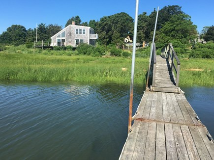 Eastham Cape Cod vacation rental - Dock for fishing, kayaking, swimming