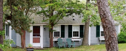 Dennis Port Cape Cod vacation rental - Front view of cottage.  WIFI included.