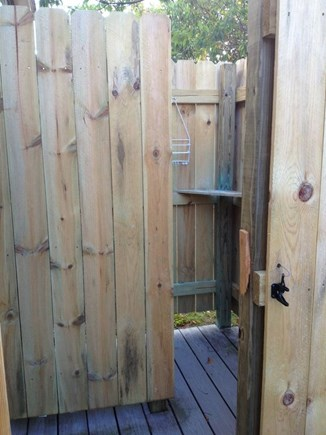 Dennis Port Cape Cod vacation rental - Enjoy a refreshing shower outdoors with hot and cold water