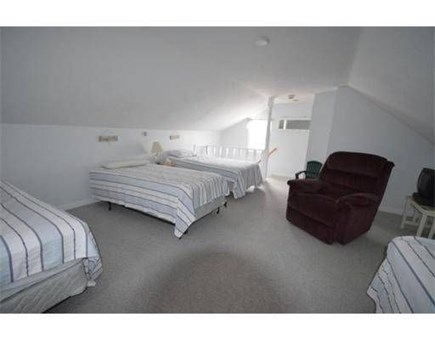 Dennis Port Cape Cod vacation rental - 2nd floor loft with 4 twins - great for kids!