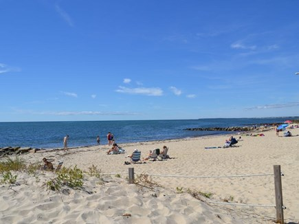 Dennis Port Cape Cod vacation rental - Bask and relax on Glendon Rd Beach just a 3-minute stroll away!