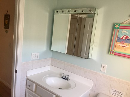 Dennis Port Cape Cod vacation rental - Another view of full bathroom