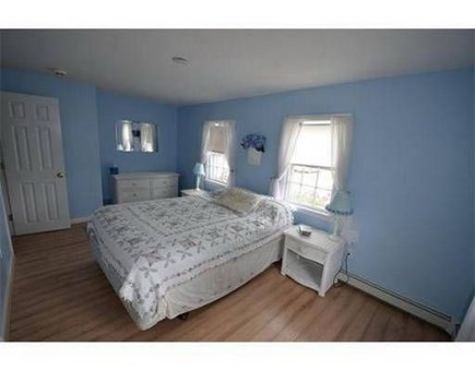 Dennis Port Cape Cod vacation rental - First floor BR with queen bed with plenty of room to setup a crib